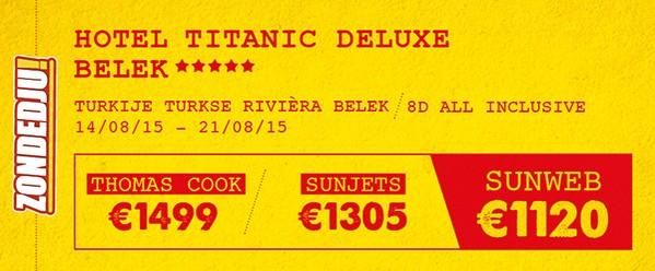 hotel Titanic Deluxe in Belek